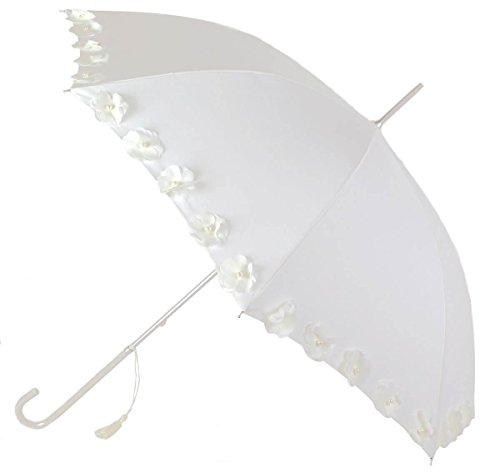 Paraguas Novia Vogue con Adorno de Bonitas Flores