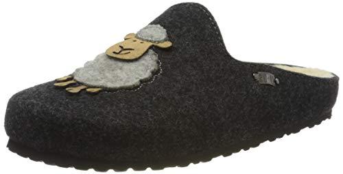 Supersoft Damen 522 298 Pantoffeln, Grau (Dk. Grey 256), 41 EU