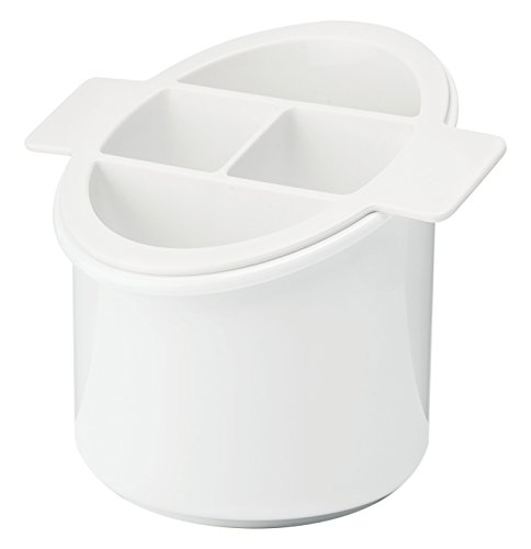 Guzzini Forme CASA 13456-11 Range Couverts en Plastique, Blanc