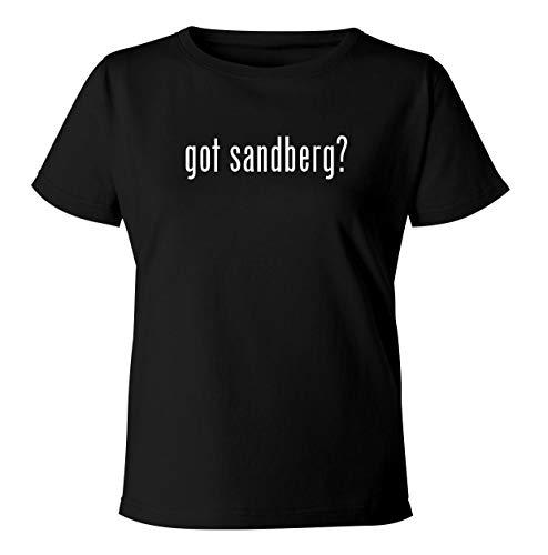 got sandberg? - Women's Soft & Comfortable Misses Cut T-Shirt, Black, XX-Large