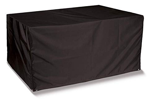Bosmere Protector 6000 Storm Black 6 Seat Rectangular Table Cover - Black, D555