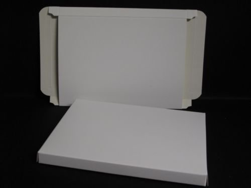 Envelope Box x 10 - Self Assembly White 135x187mm to take 7' x 5' Cards AM168