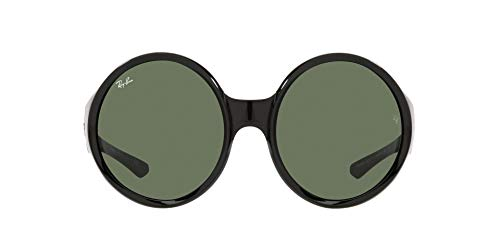 Ray-Ban 0RB4345 Gafas, Black, 58 Unisex Adulto