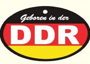 Ostprodukte-Versand.de Lufterfrischer DDR schwarz rot Gold in Duftnote Wald - DDR Produkte