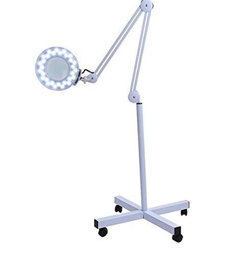 LED Lupenleuchte Lupe 5x für Estetister, Labor- und Arbeitsplätze Precision