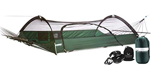 Lawson Hammock Blue Ridge Camping Hammock and Tent Bundle - Includes Shelter, Straps, Underquilt