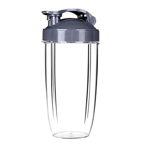 Accesorio Nutribullet, Tazas Nutribullet 32OZ y tapa de la taza, Tazas transparentes Tazas Pieza de...