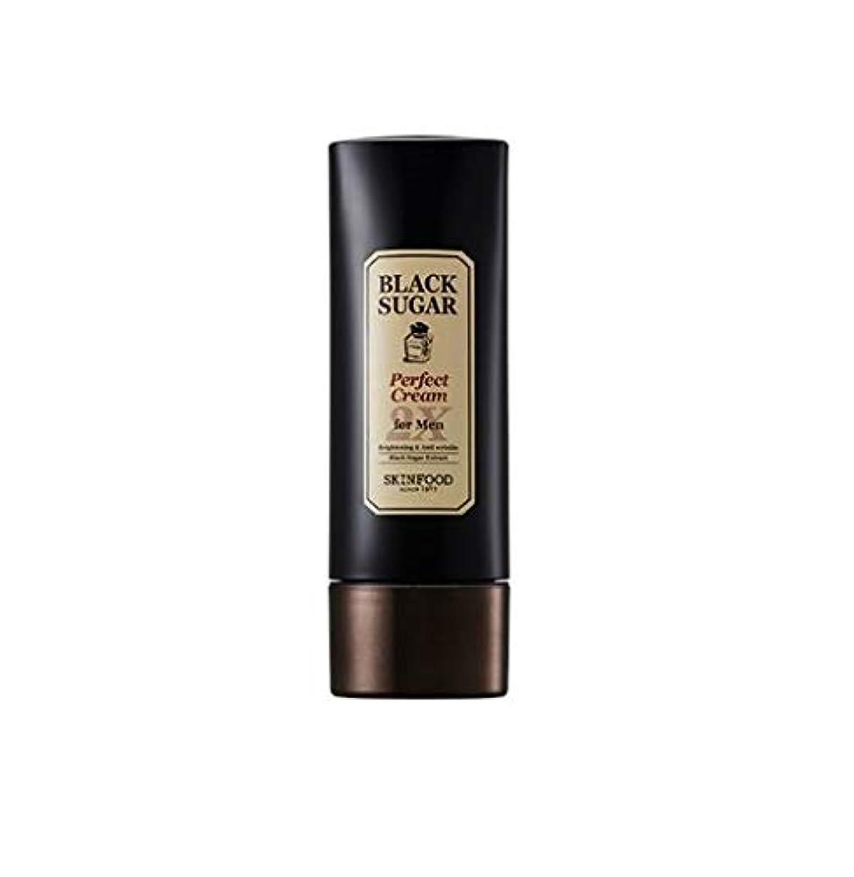 潜在的な安定した地下Skinfood 男性用ブラックシュガーパーフェクトクリーム2X / Black Sugar Perfect Cream 2X for Men 78ml [並行輸入品]