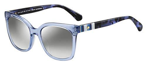 Kate Spade New York Women's Kiya Square Sunglasses, Blue, 53 mm
