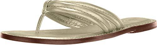 Bernardo Women's Miami Dress Sandal, Platinum Calf,6.5 M US