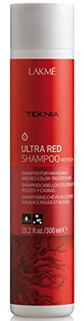 シャイ最終カロリーLAKME Teknia Ultra Red Shampoo 10.2 Oz (300ml) by Lakme [並行輸入品]