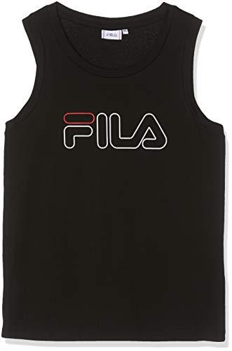 Fila Pawel Tank Up Camiseta Deportiva de Tirantes, Negro (Black 2), Large...