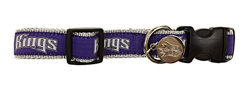 Sporty K9 NBA Dog Collar, Sacramento Kings Medium/Large