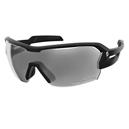 Scott Spur LS Fahrrad Wechselscheiben Brille schwarz/grau Light Sensitive