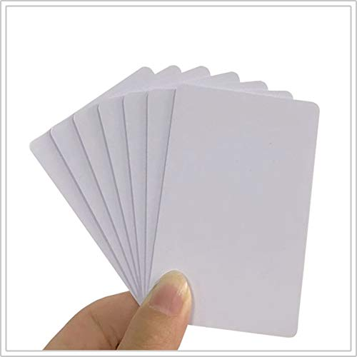 NFC Tags NTAG215 PVC Cards,Blank Printable NTAG215 NFC Cards,ISO Size Cards, 504 Bytes Memory Compatible with TagMo and Nintendo Amiibo for All NFC Enabled Phone-12 Pieces