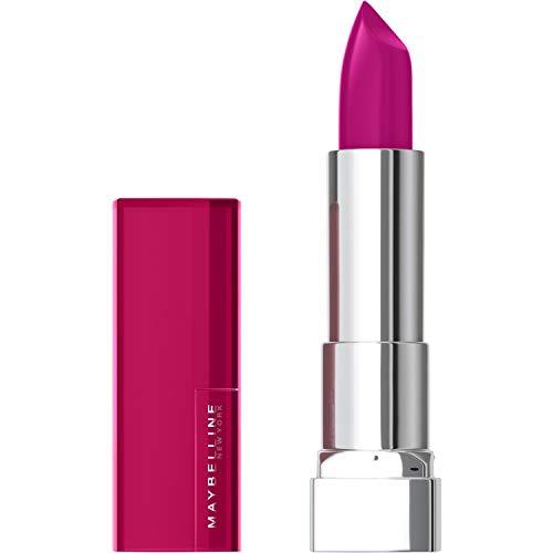Maybelline New York Color Sensational the Creams, pflegender Lippenstift, angereichert mit Sheabutter, hohe Deckkraft, satte und strahlende Farbe, Nr. 266 Pink Thrill