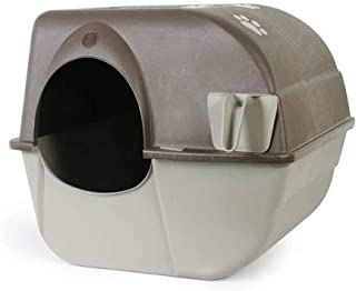 Omega Paw Roll 'N Clean Cat Litter Box, Large