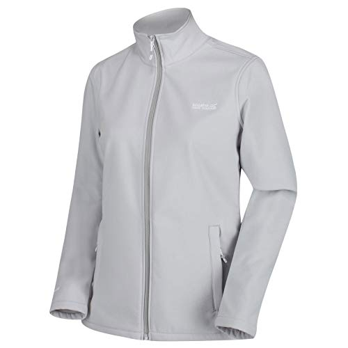 Regatta Connie III Damen Softshell-Jacke, wasserabweisend, windabweisend XX-Small Light Steel(Light Steel)