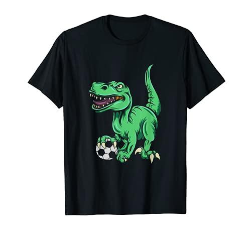 T-Rex jugando al ftbol, accesorios Champion Gear Camiseta