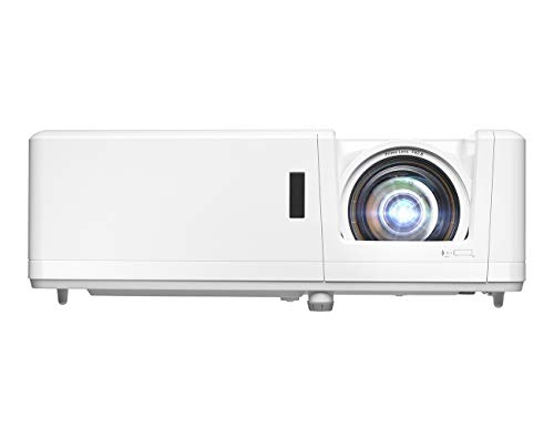 Optoma GT1090HDR Short Throw Laser Home Theater Projector | 4K HDR Input | Lamp-Free Reliable Operation 30,000 Hours | Bright 4,200 lumens for Day and Night | Short Throw