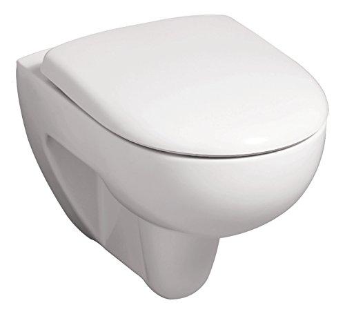 Keramag Renova Rimfree Wand-WC Tiefspüler, 1 Stück, weiß, 03981 9 - 6
