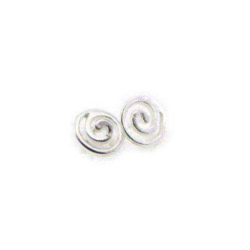 Les Trésors De Lily [C7506] - Plata pendientes 'Spirales' .