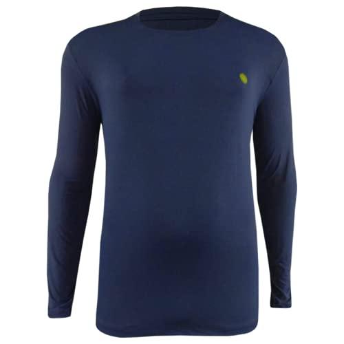 Camisa Térmica com Proteção Solar Uv 50+ Plus Size Perfis até 205 kilos (XXG, Mescla marinho)