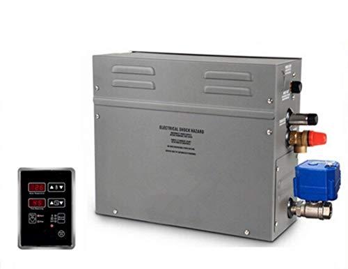BAOSHISHAN Dampfgenerator, 7 kW, Sauna, Bad, Spa, Dusche, Hammam mit leistungsstarkem motorisiertem Ablaufsystem, 220 V-240 V