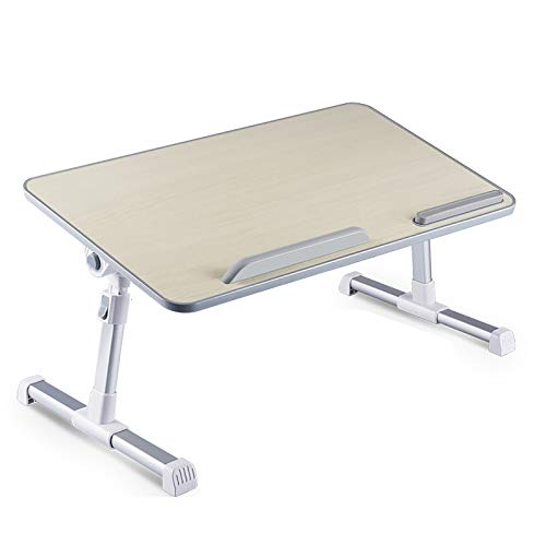 MFXI Laptop Stand Adjustable Height,folding Laptop Table,laptop Stand with Fan,for Bed Sofa Couch Office