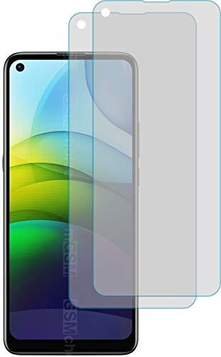 4ProTec I 2X Schutzfolie KLAR passexakt für Lenovo Lemon K12 Pro - Displayschutzfolie Schutzhülle