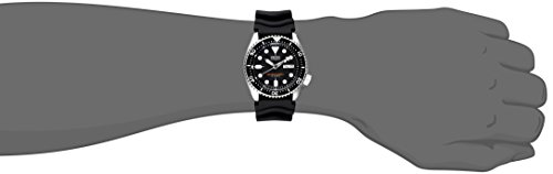 Fashion Shopping Seiko SKX007J1 Analog Japanese-Automatic Black Rubber Diver's Watch