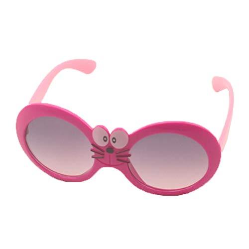 2 stuks Childrens klassieke insect zonnebril UV400 bescherming UVA UVB Kids meisjes jongens mooie stijl,M12