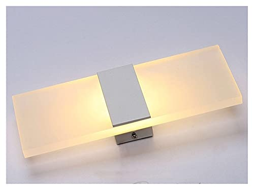 Xiniufsd lámpara de Pared DIRIGIÓ lámpara de Pared AC 85-265V Lámpara de iluminación Cuadrada Simple Interior Dormitorio para el hogar Lámpara de Noche Balcón Pasillo Pasillo Lámpara Luz cálida