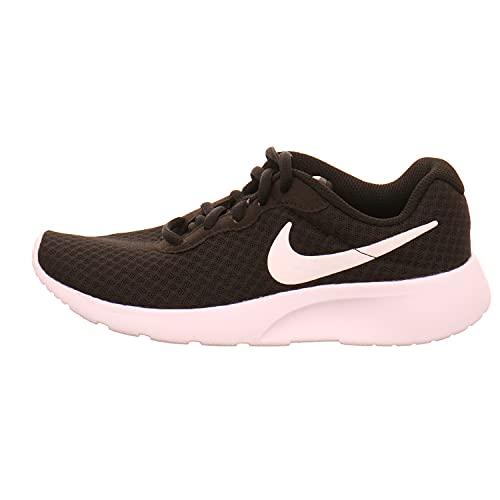 Nike , Jungen Sneaker, Mehrfarbig (Black/white/white), 34 EU