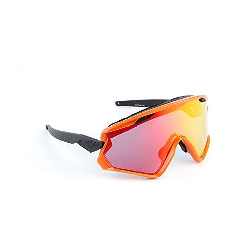 Sport-zonnebril, gepolariseerde fietssportbril, heren en dames volledige bril, ultradun en licht