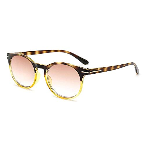XWGlory Leopard leesbril ultralichte Presbyopie-bril van hars