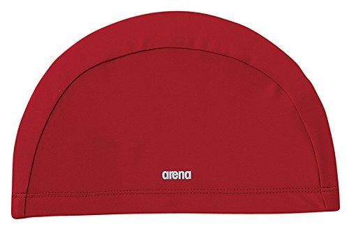 アリーナ ゆったりテキスタイルキャップ FREE レッド 1枚 DS FAR4918 RED デサント