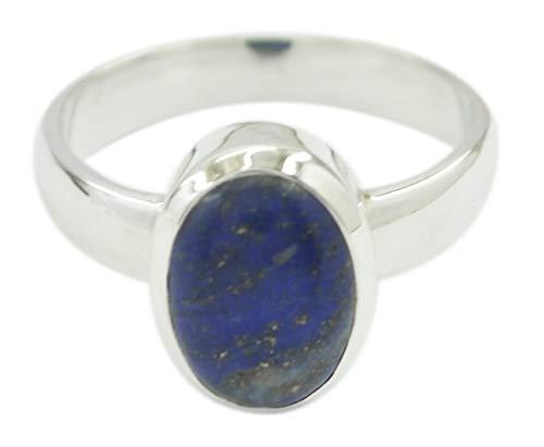 riyo Indischer 925 Sterling Silber attraktiver natürlicher Lapislazuli Ring Geschenk de