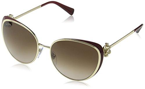 Bulgari 0Bv6092B 278/13 57 Gafas de sol, Dorado (Burdy/Brown), Unisex-Adulto