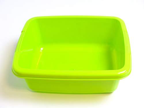 Wasserbehälter für EXIT Aksent Sand- und Wasser Tische / passendes Ersatzteil für Tische mit der Endnummer ...00/ Material: Kunststoff / Farbe: grün / Maße: 39 x 32 x 15 cm