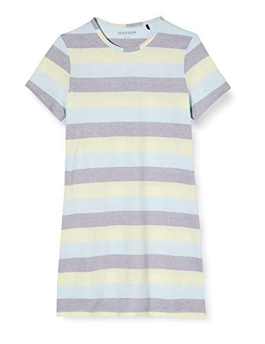 Schiesser Mädchen Sleepshirt 1/1 Nachthemd, Gelb (Gelb 600), (Herstellergröße: 152)