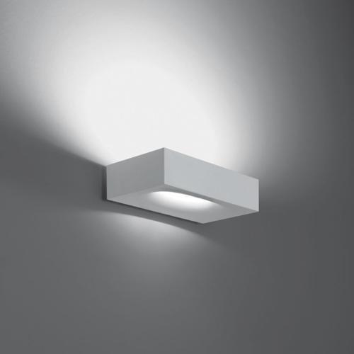 Artemide Melete Indoor R7s witte wandlamp (geborsteld binnen, wit, Aluminium, IP20, wit)