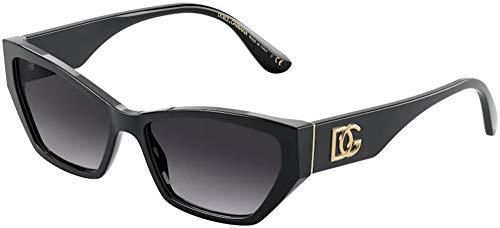 Dolce & Gabbana DG4375 Black/Black/Grey Gradient One Size