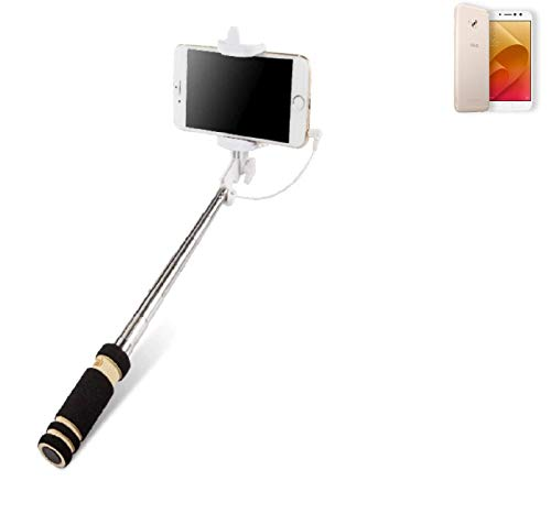 K-S-Trade® Per ASUS ZenFone 4 Selfie PRO Bastone Selfie Selfiestick Asta Autoritratto Telescopica Fotografico Monopiede Selfie Stick
