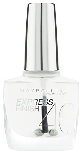 Maybelline New York Nagellack, Schnelltrocknend, Express Finish, Nr. 01 Transparent, 10 ml