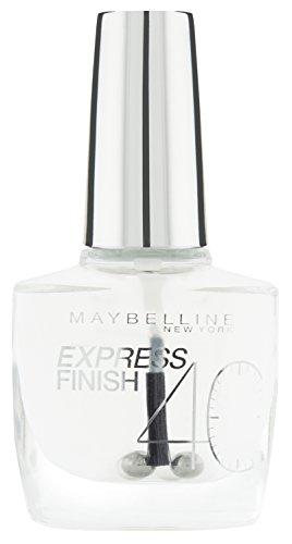 Maybelline New York Nagellack, Schnelltrocknend, Express Finish, Nr. 01 Transparent, 10 ml