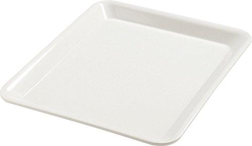 "Carlisle 5553237 Balsam Melamine Half-Size Food Pan, 12-3/4 x 10-3/8 x 1"", Bavarian Cream (Case of 6)"