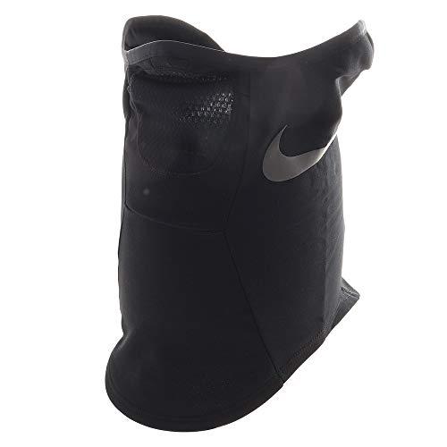 Nike Strike Snood Athletic Fleece Neck Warmer, Black/White (L/XL)