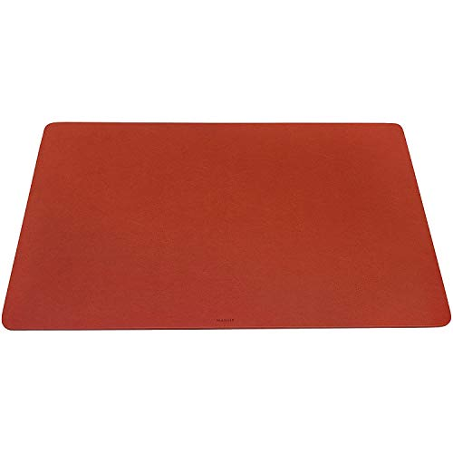 Maruse - Vade de sobremesa (medidas: 65 x 40 cm, fabricado en Italia) - naranja