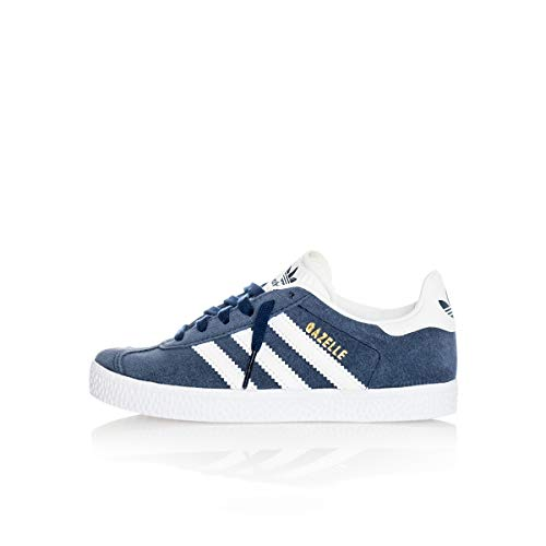adidas Gazelle C, Scarpe da Fitness Unisex-Bambini, Blu (Maruni/Ftwbla 000), 34 EU